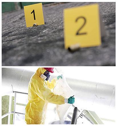 limpieza forense